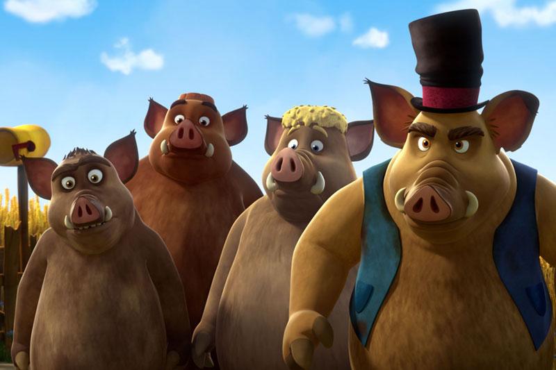 Kino ab 14. Juli: Mullewapp - eine schöne Schweinerei