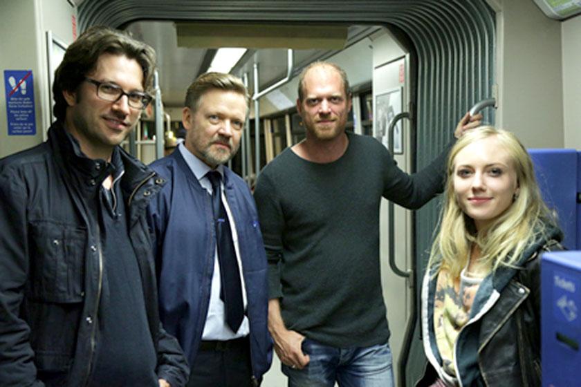 Auf Pirsch in der U-Bahn
